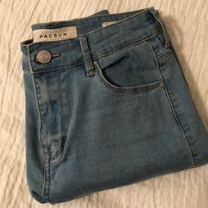 PAC SUN high rise skinny jeans
